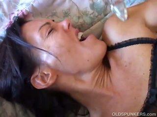 Nancy Vee kinky brunette MILF