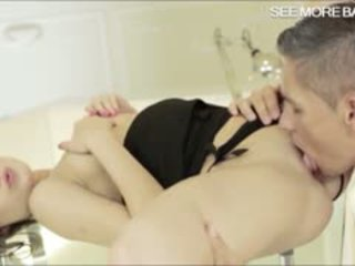 Sultry Brunette Honey Anita Bellini Pussy Pumped Real Good