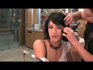 makeup, crossdresser, khuôn mặt