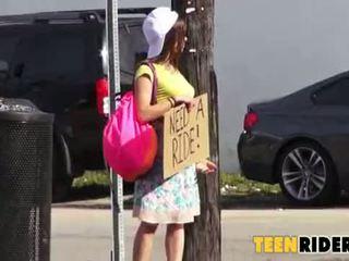حار جنس مع ل أقرن hitchhiker 0001
