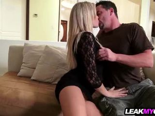 Amazing blonde homemade porn
