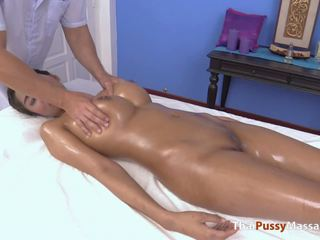 big boobs, thai, massage, big natural tits, creampie, hd porn