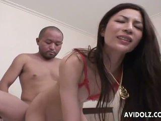 Beautiful Anri Suzuki anal sex