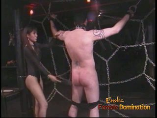 Extremely künti stallion likes being tied up and whipped