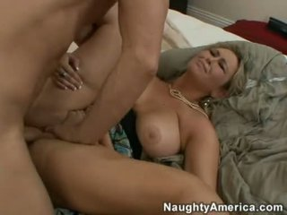 Large Boobed Abbey Brooks Acquires A Paste Like Sauce On He.