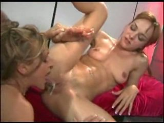 Creampie eating et foutre baisers