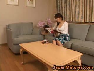 Eri nakata japonská maminka
