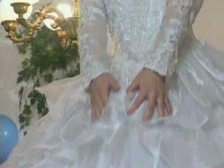 bruid, likken, europese