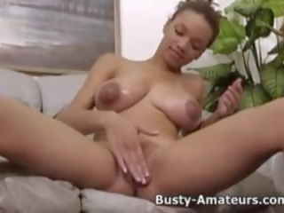 Busty Gia Strips and Playing Her Pussy, Porn 93