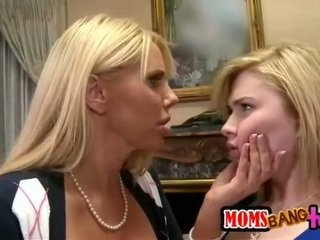 Karen Fisher and Molly Bennett threewa...