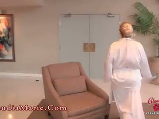 ضخم fake حلمة الثدي claudia marie meets ال الشرجي guru
