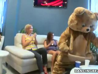 Dansing bjørn male strippers blowjob fest