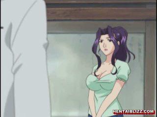 Mama japonsko hentai gets squeezed ji bigboobs