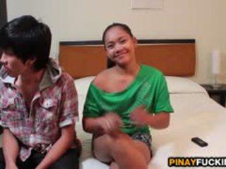 Filipina ahateur sophia blows e gets pumped