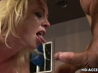See Adrianna Nicole finger herself and give bj Video