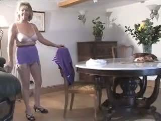 Adorable Granny In Girdle And Se.