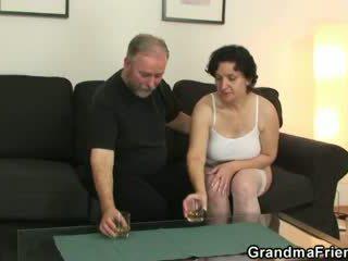 Ona takes two cocks od oba sides
