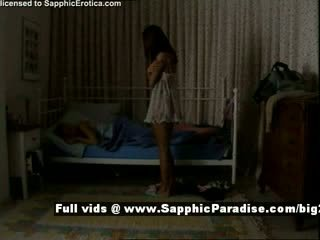 Delores e jo a partir de sapphic eroticalesbian meninas teasing