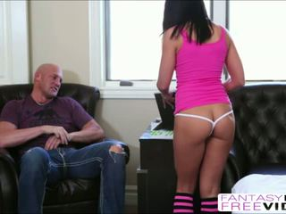 Hot Adrianna Chechik real hot anal sex