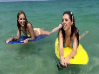 Jenna Sativa in hot lesbian seduction