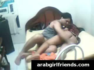 Horny Arab stud enjoys Booty fucking fucking amateur Ex-girlfriend in homemade