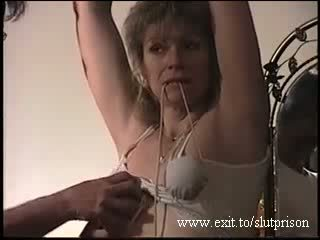 First BDSM treament Submissive milf Maria Video