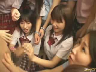 японський, дівчинки, сусід