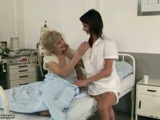 Cute perawat loves mbah