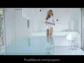 Julia ann - puremature anal loving milf gets fantasy filled