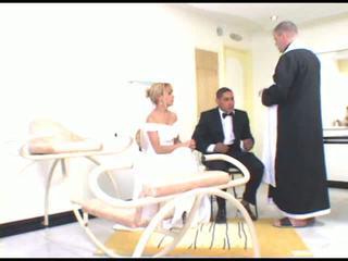 ブロンド, brides, milf