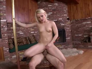 Horny sexy blonde devil really wants to fuck hard