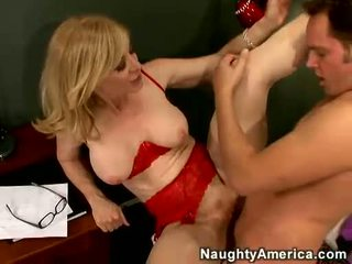 Nina Hartley Acquires Her Cookie Filled With Juvenile Cunt