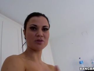 Shower hot sexy gigantic tits Jasmin Jae