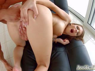 Wysokie brunetka mary mokre anal hardcore na tyłek traffic.