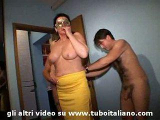 Italienisch ehefrau cuckolds seine hubby lei troia lui cornuto