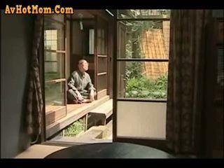 japonijos, tėtis, dukra
