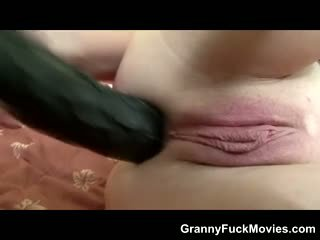 Huge Black Dong For Granny Ass