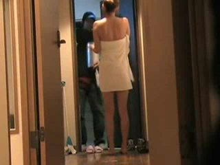 Japanese Wife Answers Door Naked 2