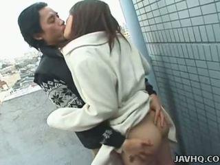 Javhq: ιαπωνικό έφηβος/η exhibs και πατήσαμε έξω