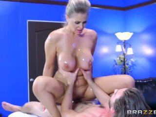 big boobs, doggystyle, oil