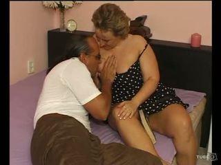 Ένα σέξι παχουλός/ή κυρία loves σεξ