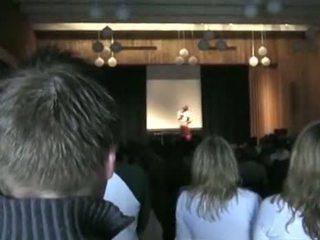 public, school, stage