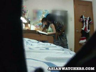 Spycam giovane studentessa privato lesson 2