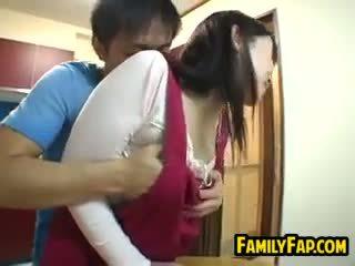 性感 日本语 步 母亲