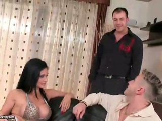 brunette watch, ideal hardcore sex watch, real oral sex all