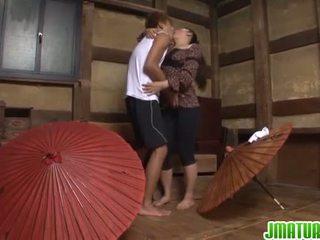 japonez, masturbarea, matur