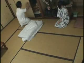 japonés, joder, masaje