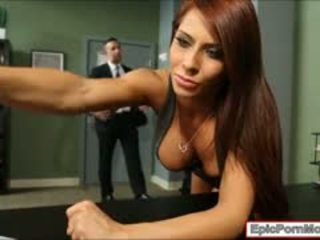 Kantoor hoer madison ivy sperma swallows na hardcore seks