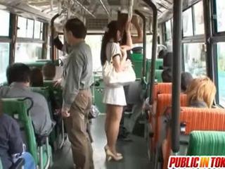 Yuu asakura con un cazzo su il autobus