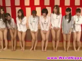 Oriental hotties in weird asian game s...